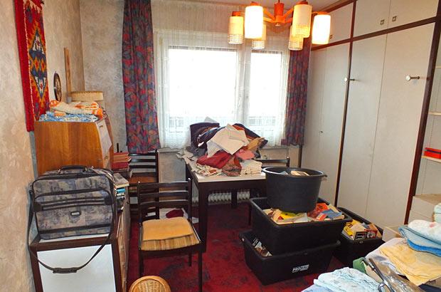 Wohnungsauflösung Stuttgart - vorher