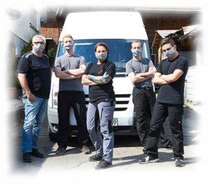 Mund-Nase Schutzmaske - Team